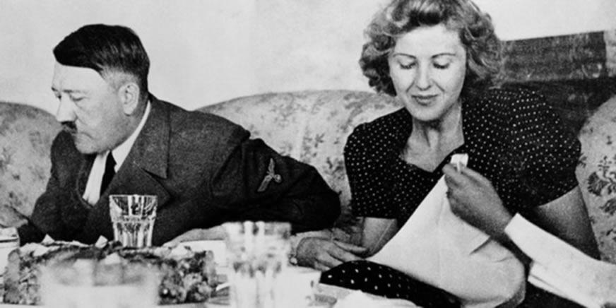 Adolf Hitler i Eva Braun