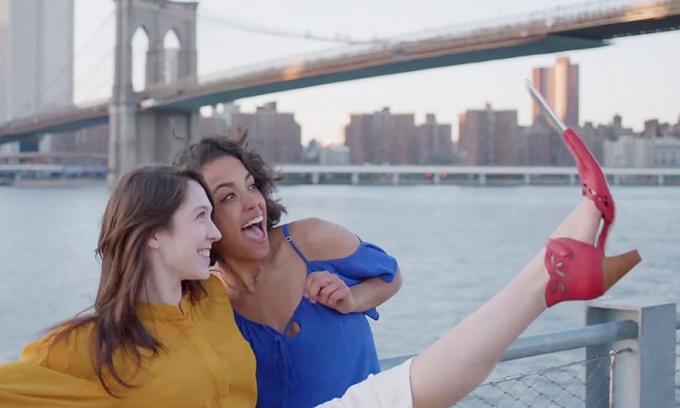 U modi selfie cipele