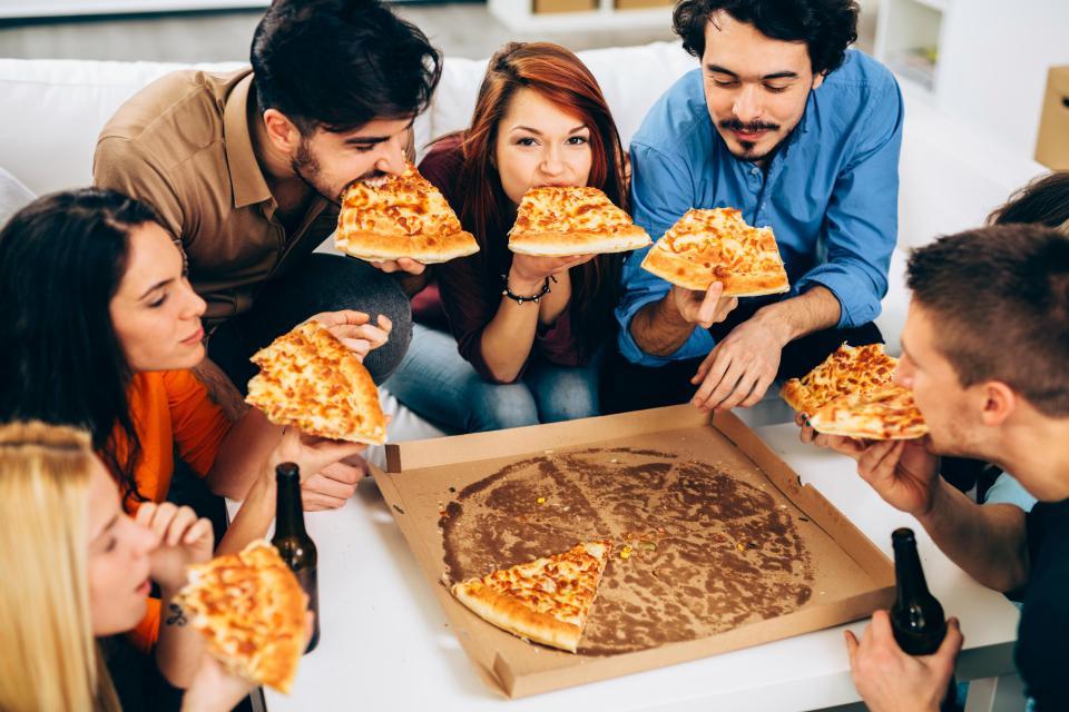 Pizza povećava produktivnost na poslu!