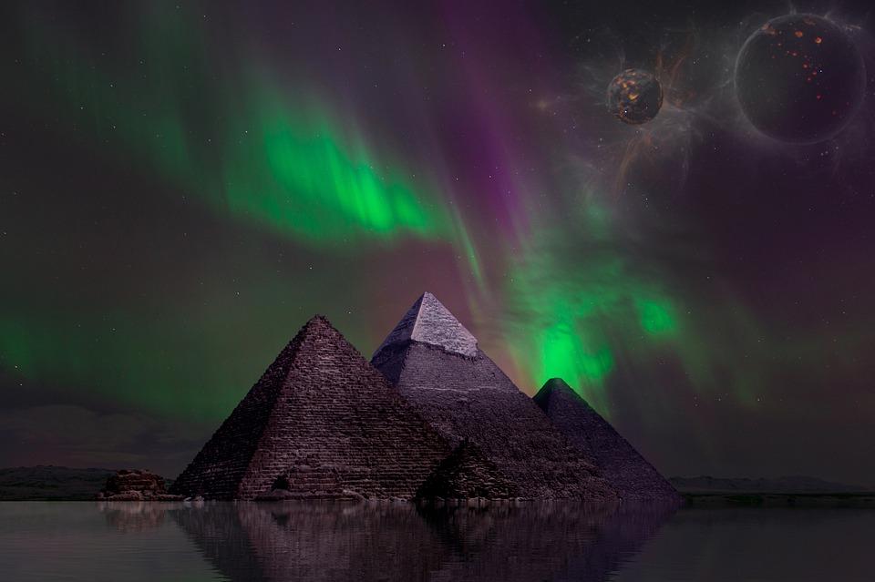 Piramida čuda iznutra vrši fokusiranje neke energije