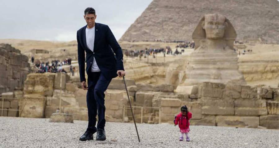 Najviši čovjek i najniža žena na svijetu