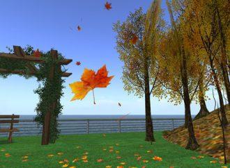 List nošen vjetrom
